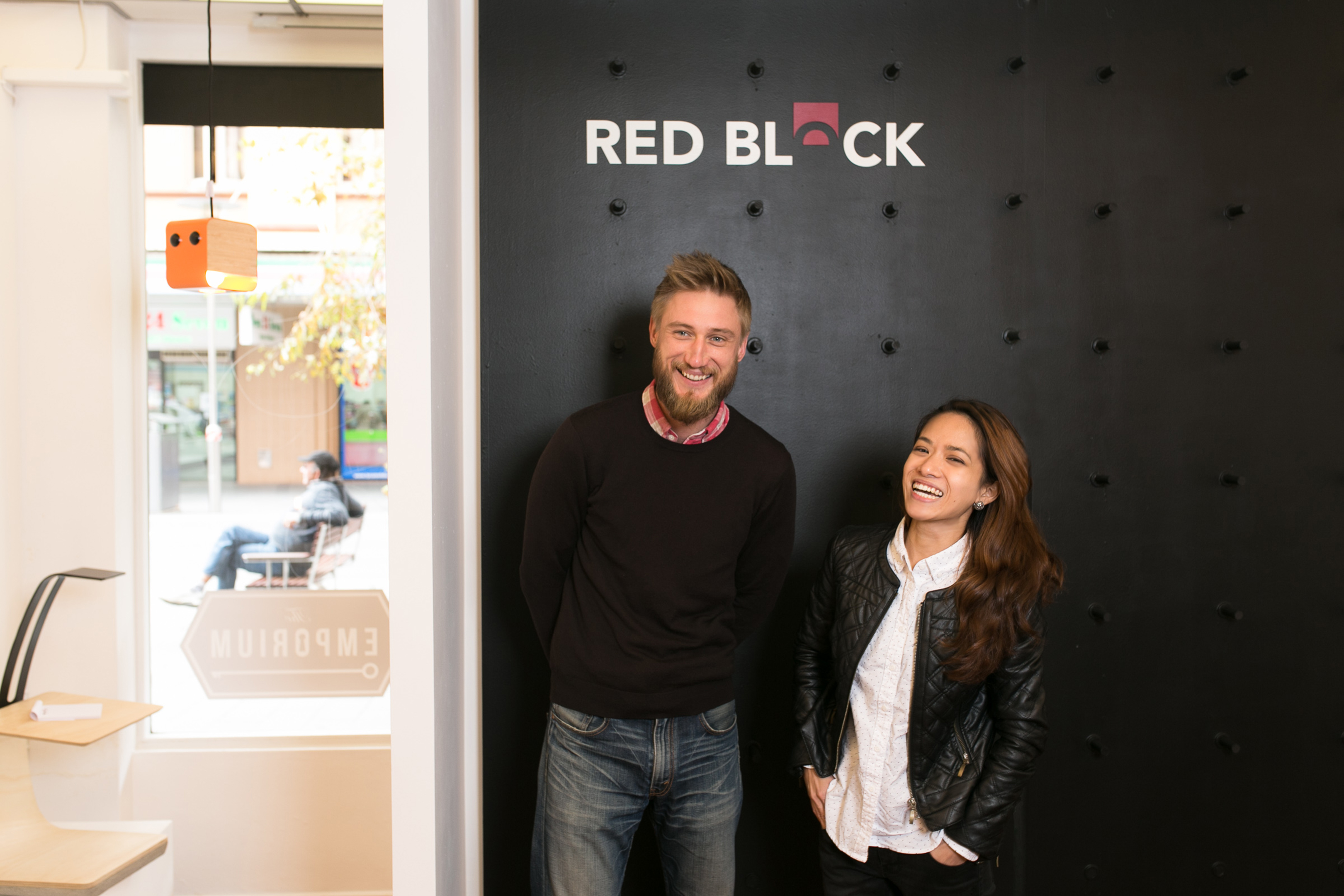 MAKEit MADEit Conference - Red Block Design